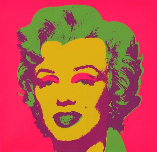 Marilyn Monroe Marilyn Von Andy Warhol At Artists24 Net Kunstler