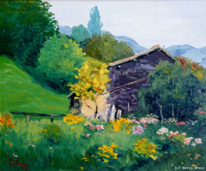 Ticino Prati In Fiore Von Betty Gross At Artists24 Net Kunstler