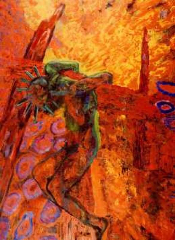Moderne Kunstwerke moderne kreuzigung nach altmeisterlicher vorlage seyjo at