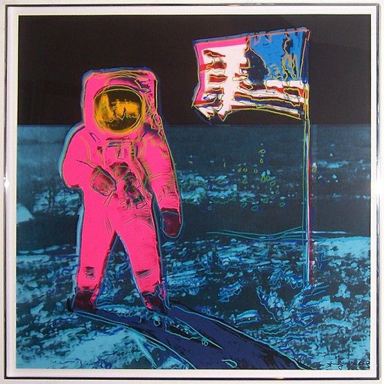 Moonwalk Ii 405 Von Andy Warhol At Artists24 Net Kunstler Kunst