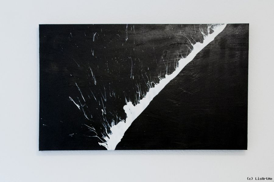 abstrakte kunst gro schwarz und wei blitz von lisartme at k nstler kunst und. Black Bedroom Furniture Sets. Home Design Ideas