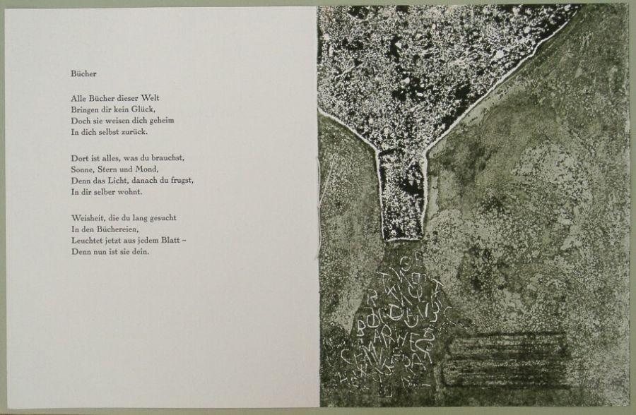 Hermann Hesse Gedicht Bücher Von Elke Rehder At Artists24