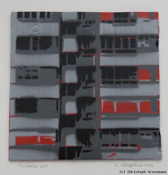 Fassade Rot Von Christoph Grossmann At Artists24 Net